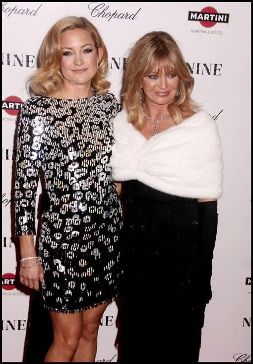 Kate Hudson et sa mère Goldie Hawn