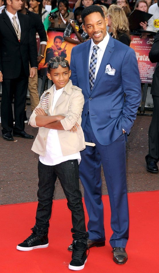 Will Smith et son fils Willow
