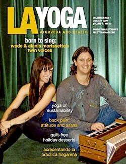 Alanis & Wade Morissette : rock star et prof de yoga !
