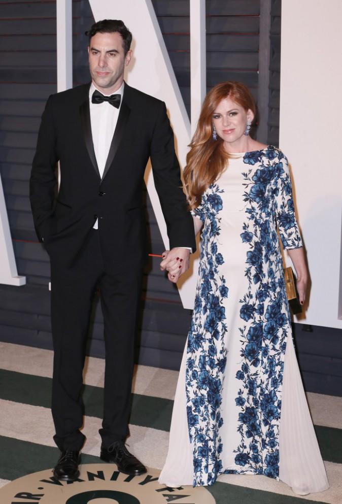 Isla Fisher et Sacha Baron Cohen