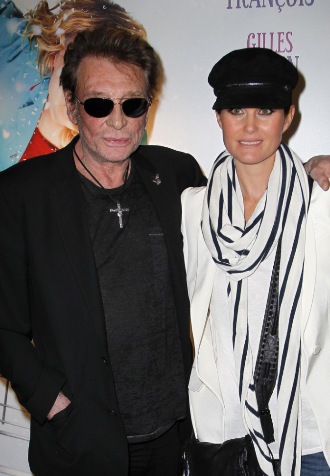 Laetitia Halliday et Johnny Halliday