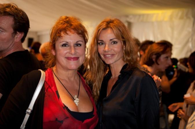 Ingrid Chauvin et Valerie Vogt à Beausoleil le 11 octobre 2014