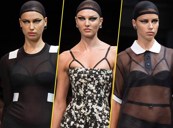 Irina Shayk, Adriana Lima et Candice Swanepoel : à l'assaut du catwalk de Riccardo Tisci et Givenchy !