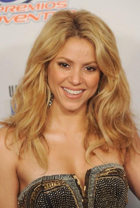 Shakira : Très sexy même quand elle ne chante pas!