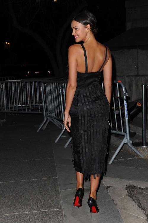 Irina Shayk à New-York le 14 avril 2015