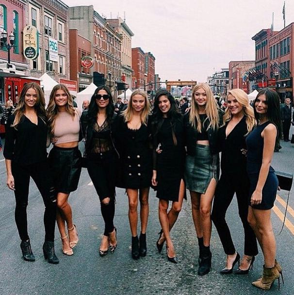 Photos : Irina Shayk, Emily Ratajkowski, Gigi Hadid... Après New-York, les bombes s'attaquent à Nashville !