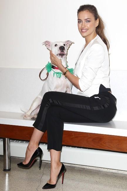 Irina Shayk, New York, 14 décembre 2012.