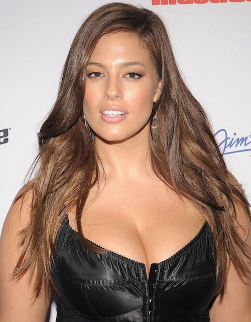 Ashley Graham à la soirée Sports Illustrated à  New York, le 10 février 2015