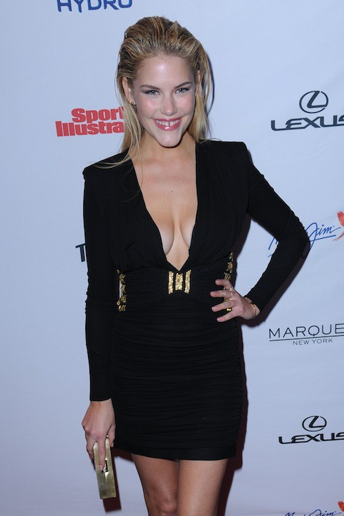 Ashley Smith à la soirée Sports Illustrated à  New York, le 10 février 2015
