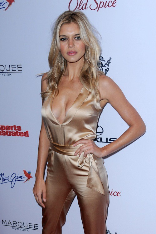 Kelly Rohrbach à la soirée Sports Illustrated à  New York, le 10 février 2015