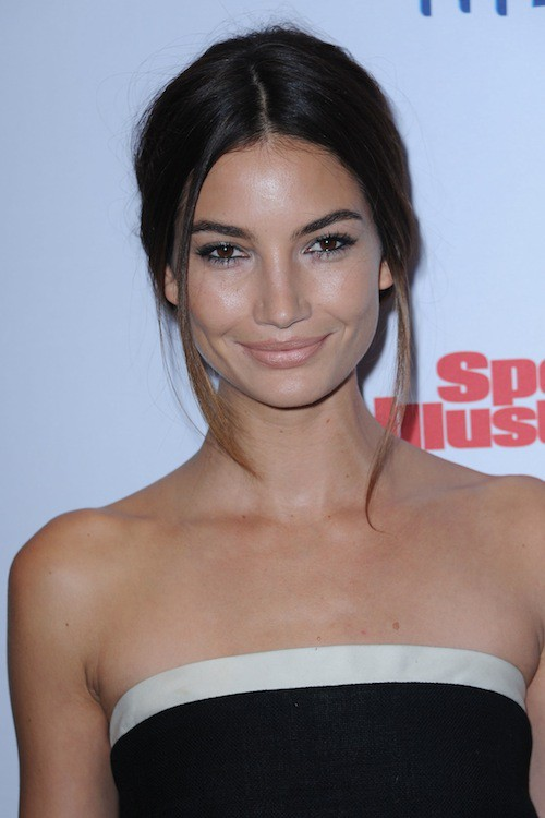 Lily Aldridge à la soirée Sports Illustrated à  New York, le 10 février 2015
