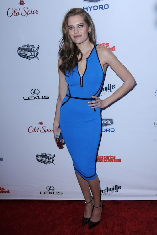 Solveig Mork Hansen à la soirée Sports Illustrated à  New York, le 10 février 2015