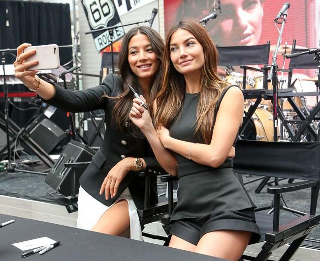 Irina Shayk, Hannah Davis, Erin Heatherton... Les beautés sexy de Sports Illustrated font grimper la température à New-York !