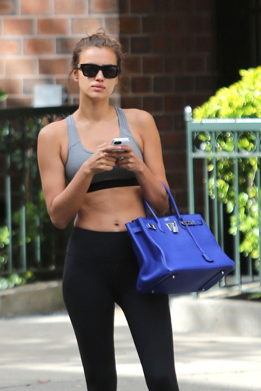 Irina Shayk à New-York le 3 septembre 2014