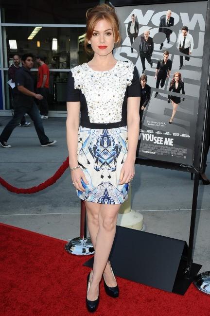 Isla Fisher, ravissante actrice