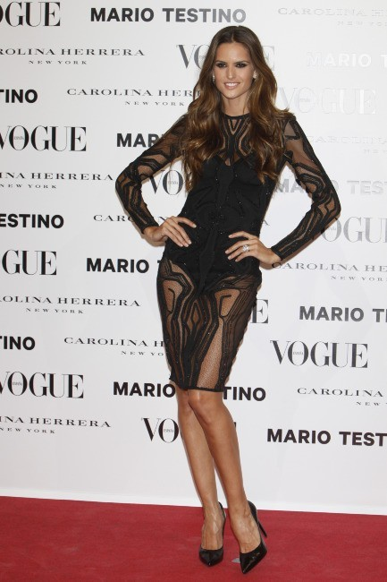 Izabel Goulart le 26 novembre 2012 à Madrid