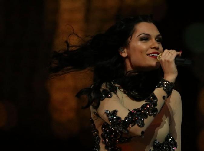 Jessie J en concert le 12 août 2012 à Londres lors de la cérémonie de clôture des J.O 2012