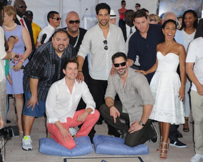 Photos : Jada Pinkett, Channing Tatum... Tous réunis pour recevoir leurs étoiles sur le Walk of Fame !