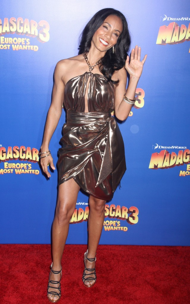 Jada Pinkett lors de la première de Madagascar 3 à New York, le 7 juin 2012.