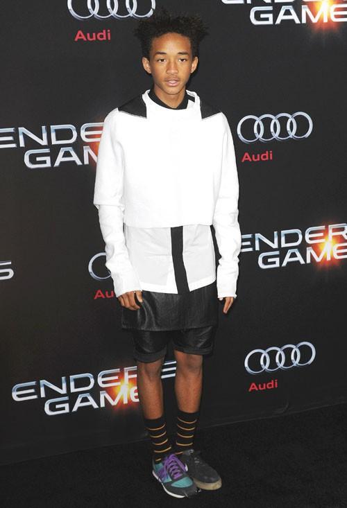 Jaden Smith à l'avant-première d'Ender's Game organisée à Los Angeles le 28 octobre 2013