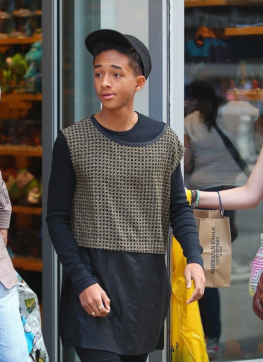 Kylie Jenner et Jaden Smith à New-York le 29 mai 2013