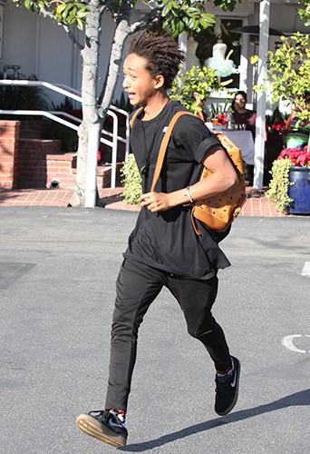 Jaden Smith à Los Angeles le 27 décembre 2013