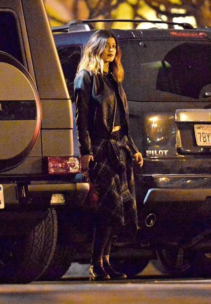 Kylie Jenner à Calabasas, le 9 mars 2014.