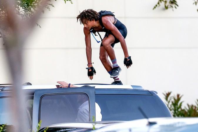 Photos : Jaden Smith : virée sportive musclée avant de rejoindre sa Kylie Jenner !