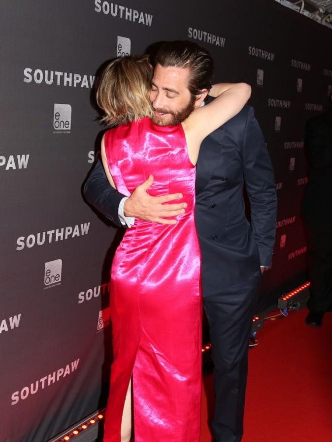 Jake Gyllenhaal et Rachel McAdams : Très complices pour la première de Southpawn !