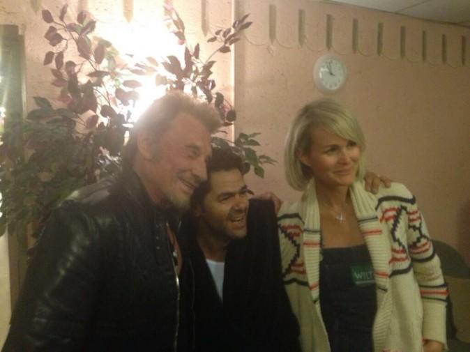 Johnny, Jamel et Laeticia