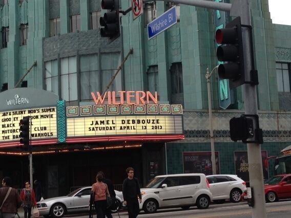 Le théâtre de Los Angeles