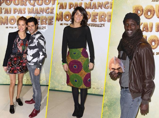 Photos : Jamel Debbouze et Mélissa Theuriau, Florence Foresti, Omar Sy… Une première amicale à Paris !