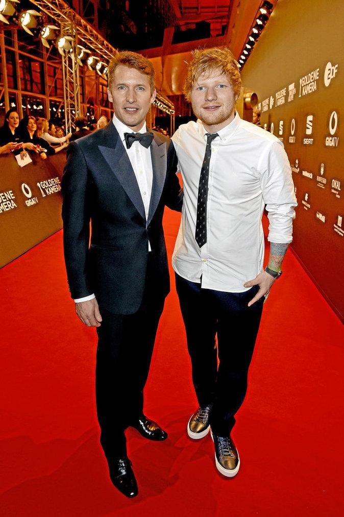 James Blunt et Ed Sheeran