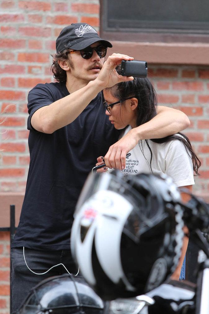 James Franco à New York le 15 juin 2016