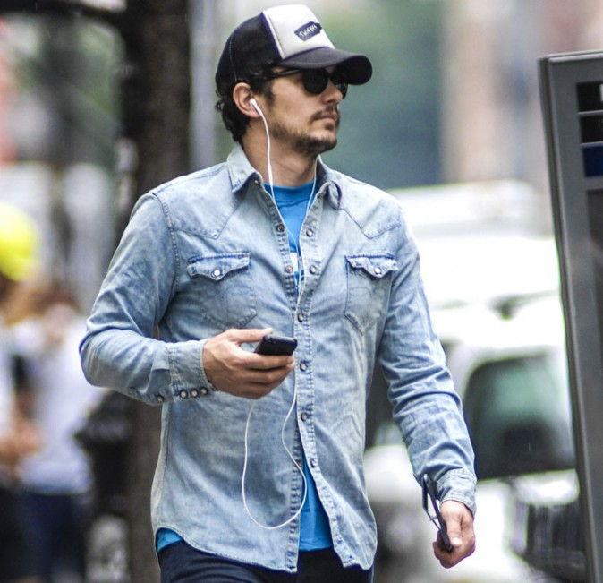 James Franco dans les rues de New York