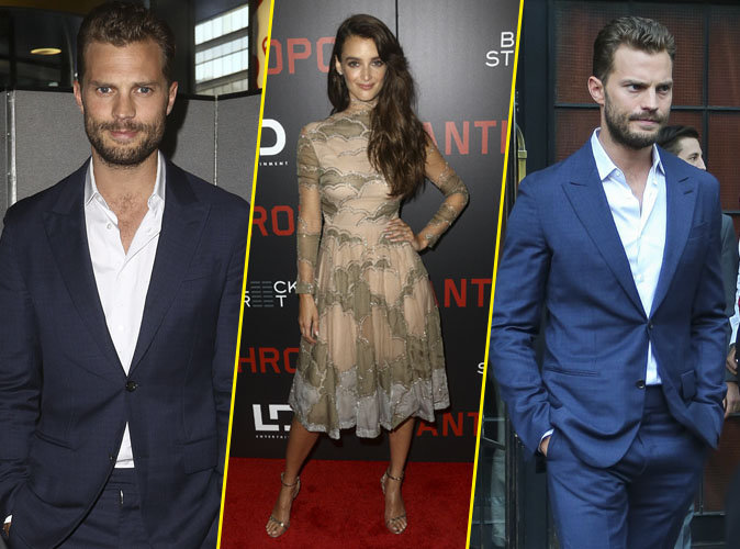 Photos : Jamie Dornan et Charlotte Le Bon : duo ultra glamour à l'avant-première de Anthropoid à New York