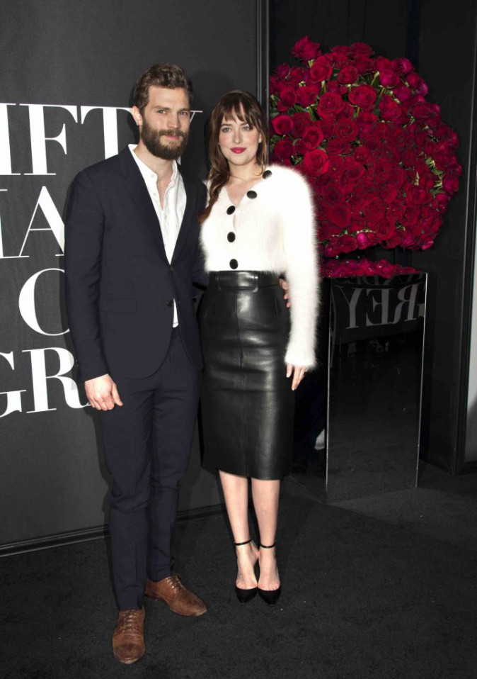 Jamie Dornan et Dakota Johnson : 50 shades of Grey... La promo commence !
