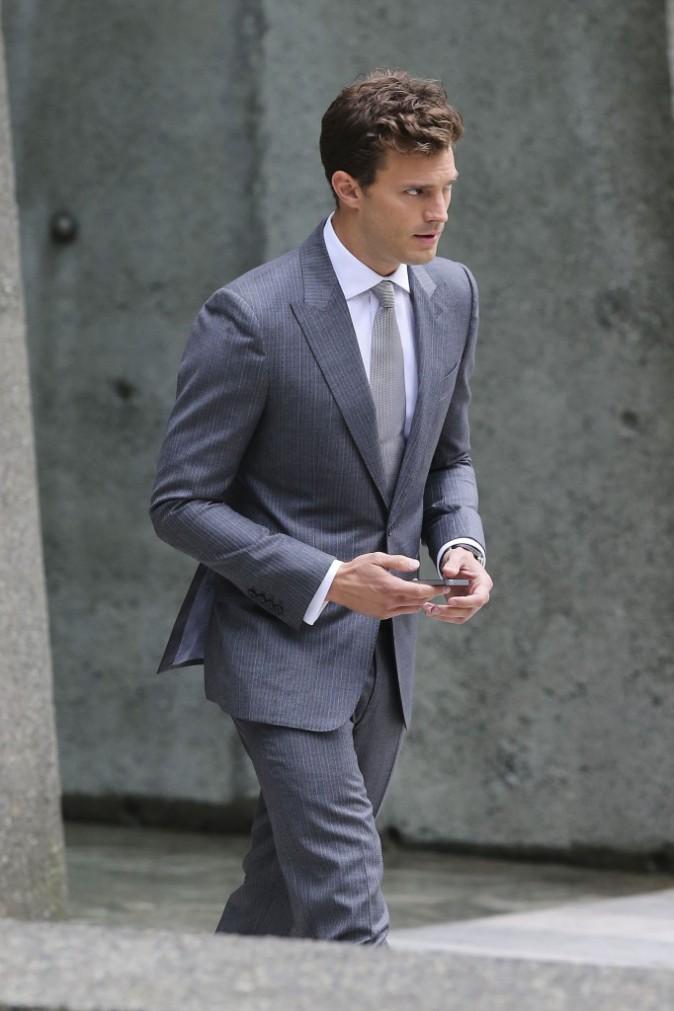 Jamie Dornan à Vancouver le 13 octobre 2014