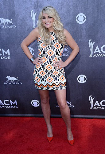Jamie Lynn Spears à Las Vegas le 6 avril 2014