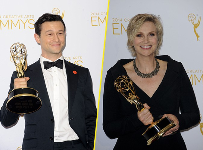 Photos : Jane Lynch et Joseph Gordon-Levitt : stars des Creative Arts Emmys 2014 !