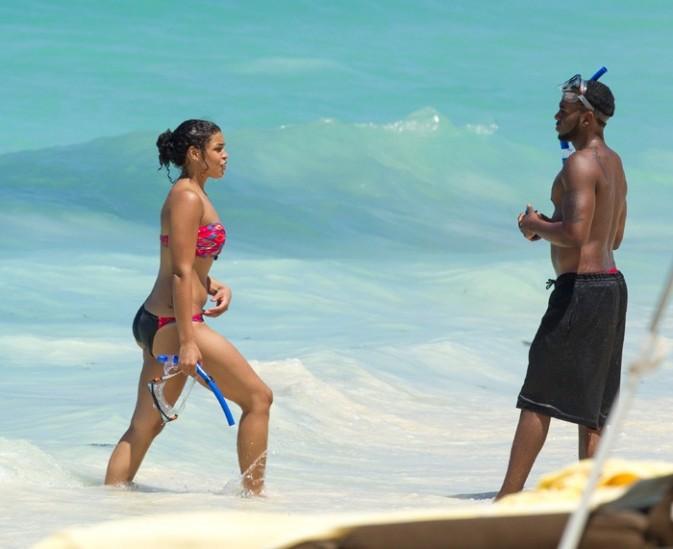 Jason Derulo et Jordin Sparks aux Bahamas le 10 septembre 2012