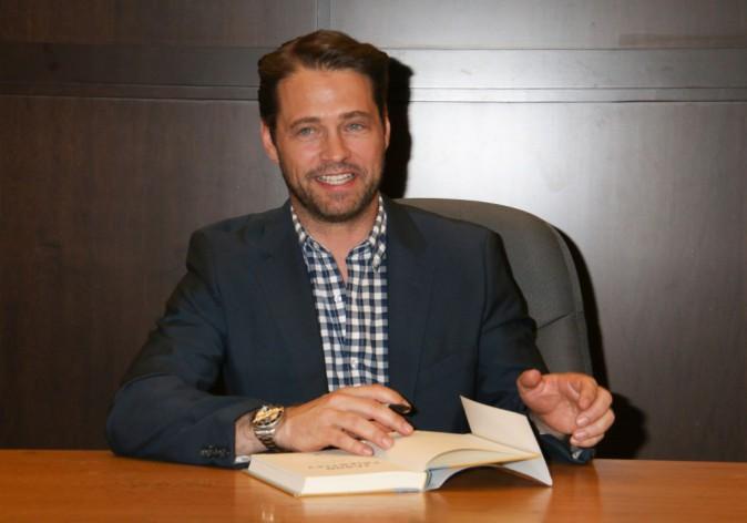 Jason Priestley (Beverly Hills) en séance de dédicaces pour son livre autobiographique !