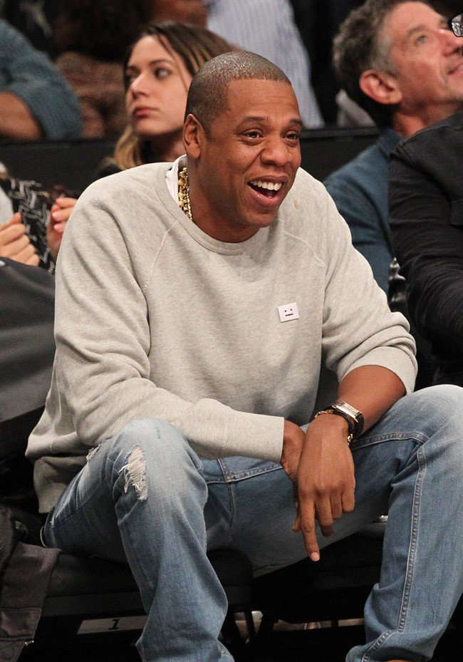 Jay-Z au Barclays Center de New-York le 17 novembre 2014