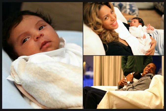 Blue Ivy et Jay-Z