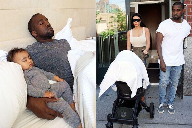 Kanye et North West