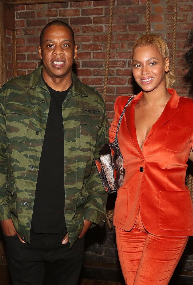 Beyoncé et Jay-Z le 21 octobre 2015