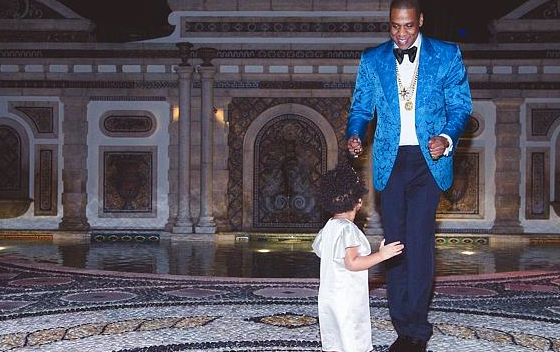 Jay-Z complètement gaga de Blue Ivy !