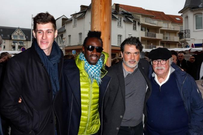 Jean-Baptiste Maunier, Marco Prince, Christophe Barratier et Jean Becker le 23 novembre 2014
