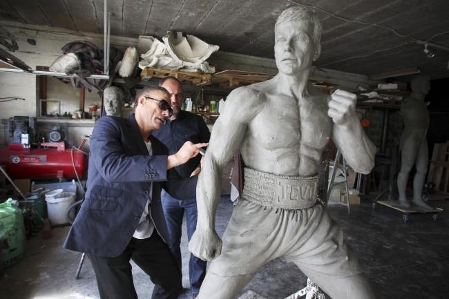 Jean-Claude Van Damme le 17 septembre 2012 en Belgique