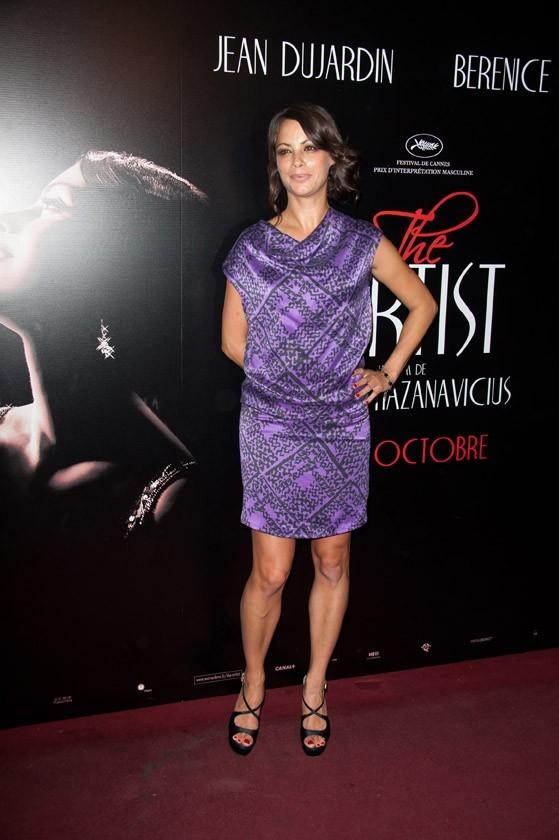 Bérénice Bejo lors de la première de The Artist à Paris, le 28 septembre 2011.